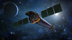 Chandra spacecraft image