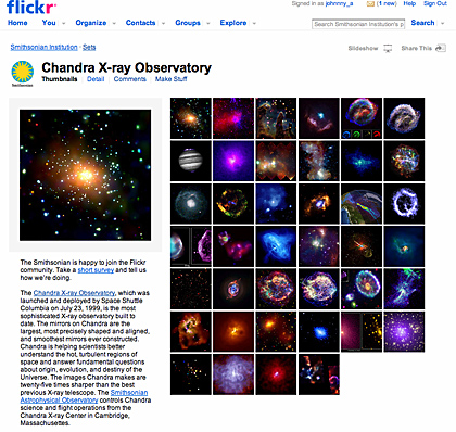 Chandra picts on Flickr