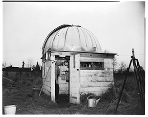 Luther Hawthorne's observatory