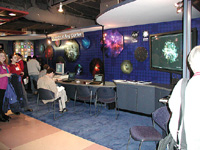 Chandra exhibit booth