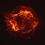 Chandra X-ray image of Cassiopeia A