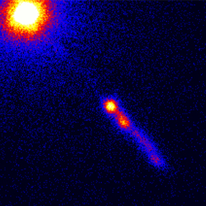 X-ray image of 3C273