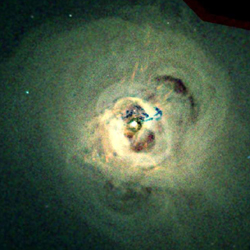 X-ray Image of Perseus Cluster
