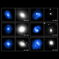 Elliptical Galaxy Gallery