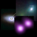 3-Panel of Chandra, Lick & Infrared Images of SN 2006gy
