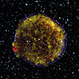 Photo of Tycho's Supernova Remnant
